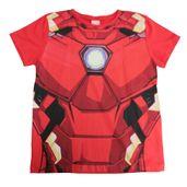 Camiseta-Manga-Curta---Meia-Malha---Vermelho---Marvel---Iron-Man---Disney---8