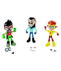 Conjunto-de-Figuras---3-Figuras---Troca-Faces---DC-Comics---Teen-Titans-GO----Mattel