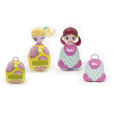 Mini-Bonecas-e-Bolsinha-Make-Up---Kekilou---Double-Blister---Candide