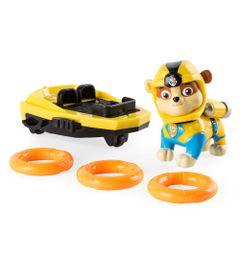 Veiculo-e-Figura---Patrulha-Canina---SeaPatrol---Rubble---Sunny