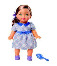 Boneca-Bebe---Little-Mommy---Doce-Bebe---Morena-Vestido-Azul---Mattel