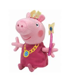 Pelucia-30-Cm---Media---TY---Peppa-Pig---Princesa---DTC