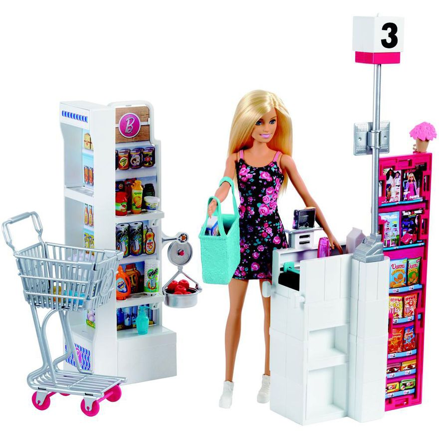 Boneca-Barbie---Supermercado-de-Luxo---Mattel