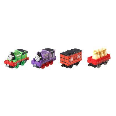 Conjunto-de-Locomotivas-e-Vagao---Thomas-Friends-Adventure---Corrida-Postal-de-Sodor---Mattel