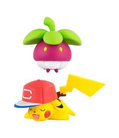Mini-Figura-Articulada---15-Cm---Pokemon---Frubberl-e-Pikachu---Sunny