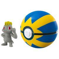 Mini-Figura-Pokemon---Machop-e-Quick-Ball---Sunny