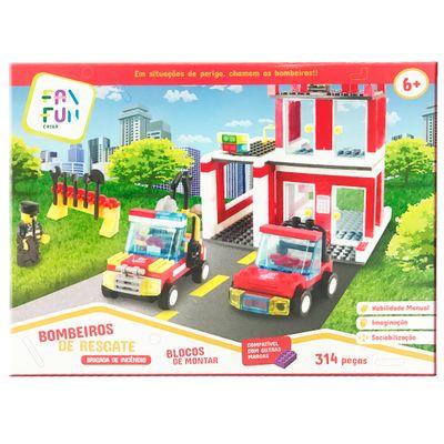 blocos-de-montar-build-me-up-314-pecas-central-de-bombeiros-fanfun-18NT082_Frente