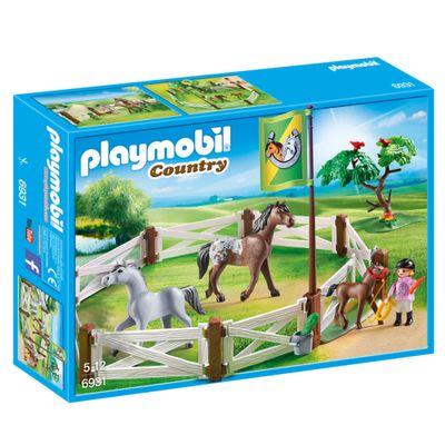 Playmobil-Country---Cercado-com-Cavalos---6932---Sunny