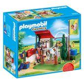 Playmobil-Country---Estabulo-com-Bomba-D-Agua---6929---Sunny