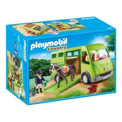 Playmobil-Country---Veiculo-de-Transporte-de-Cavalos---6928---Sunny