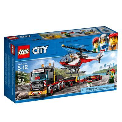 LEGO-City---Caminhao-Carga-Pesada---60183