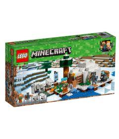 LEGO-Minecraft---O-Iglu-Polar---21142