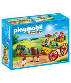 Playmobil-Country---Charrete-com-Cavalos---Sunny