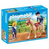 Playmobil-Country---Ginasio-de-Treinamento-com-Cavalos---Sunny
