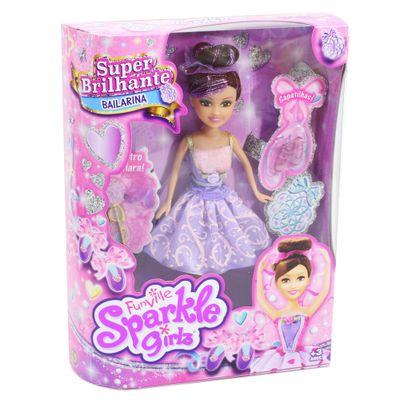 Boneca-Articulada-com-Acessorios---Funville-Sparkle-Girlz---Bailarina---Angelica---DTC