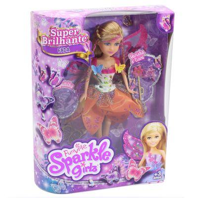 Boneca-Articulada-com-Acessorios---Funville-Sparkle-Girlz---Fada---Estrela---DTC