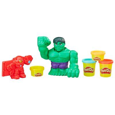 Massa de Modelar - Play-Doh - Combate com Hulkbuster - Hasbro