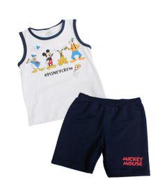 Conjunto-Camiseta-Machao-e-Bermuda-Moletom---Mickey-mouse---Disney