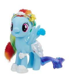 Figura-com-Acessorios---My-Little-Pony---Rainbow-Dash---Hasbro