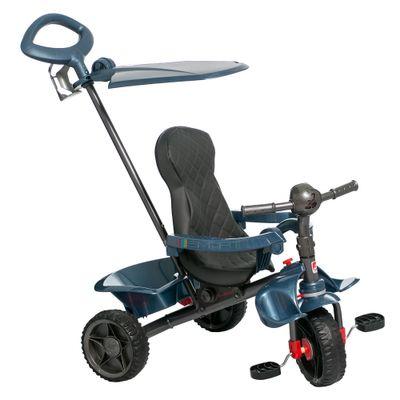 Triciclo-de-Passeio---Smart---Reclinavel---Azul---Bandeirante_Frente