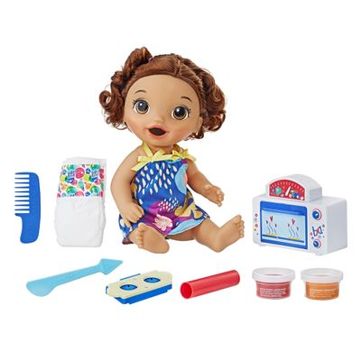 22d02fb639 Boneca Baby Alive - Meu Primeiro Forninho - Morena - E2098 - Hasbro ...