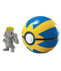 Mini-Figura-Pokemon-e-Pokebola-com-Clip---Machop-e-Ultra-Ball---Sunny