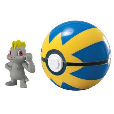 Mini-Figura-Pokemon-e-Pokebola-com-Clip---Machop-e-Ultra-Ball---Sunny