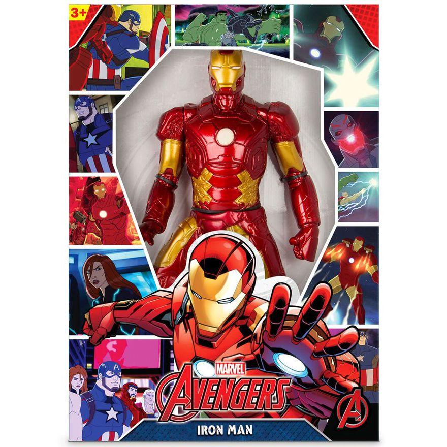 Boneco-Articulado---45-Cm---Disney---Marvel---Revolution---Iron-Man_Embalagem