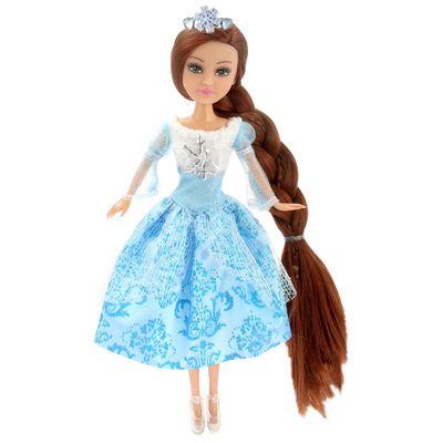 Boneca-e-Acessorios---Sparkle-Girlz---Winter-Princess---Morena-com-Vestido-Azul---DTC