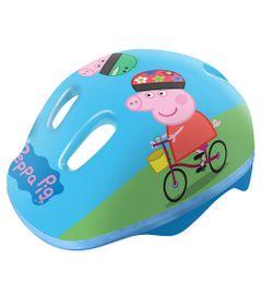 Capacete-Infantil---Peppa-Pig---Azul---DTC