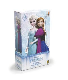 Quebra-Cabeca-Contorno---80-Pecas---Disney---Frozen---Grow-