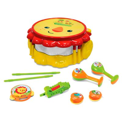 Conjunto-Bandinha-do-Leao---8-Pecas---Fisher-Price