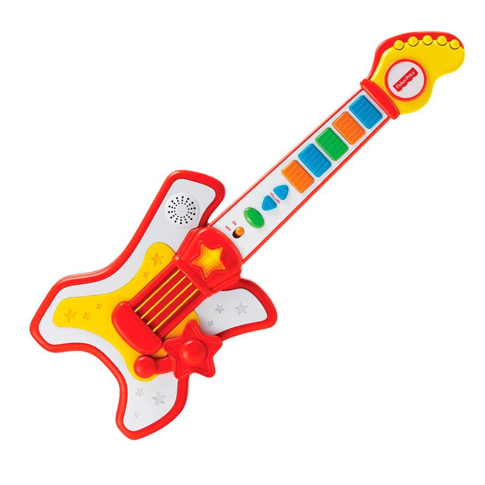Guitarra Infantil - Rockstar - Fisher-Price