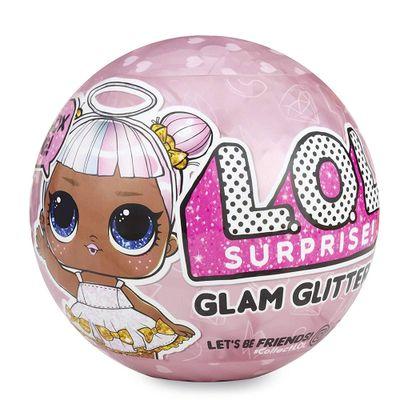 Mini-Boneca-Surpresa---LOL---Lil-Outrageous-Littles---Glam-Glitter-Series---Candide_Frente