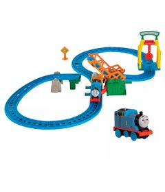 Kit-Playset-e-Mini-Veiculos---Thomas---Friends---Ponte-Levadica-e-Thomas---Fisher-Price