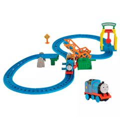 Kit-Playset-e-Mini-Veiculos---Thomas---Friends---Ponte-Levadica-e-Gordon---Fisher-Price