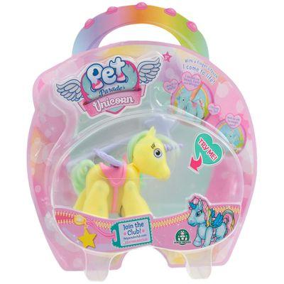Mini-Boneco---Pet-Parade---Unicornio---Amarelo---Multikids