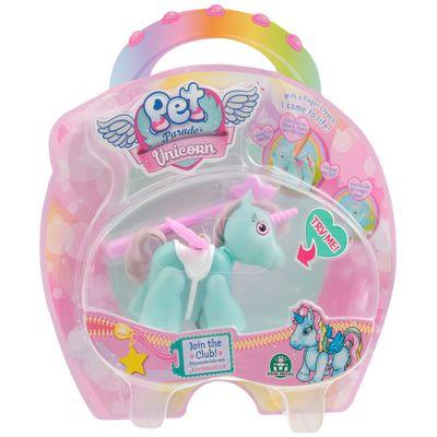 Mini-Boneco---Pet-Parade---Unicornio---Verde-e-Branco---Multikids