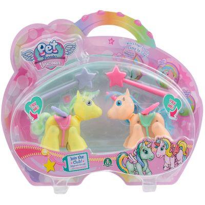 Mini-Bonecos---Pack-com-2---Pet-Parade---Unicornio---Amarelo-e-Laranja---Multikids
