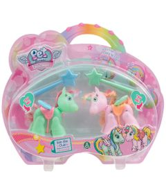 Mini-Bonecos---Pack-com-2---Pet-Parade---Unicornio---Verde-e-Rosa---Multikids