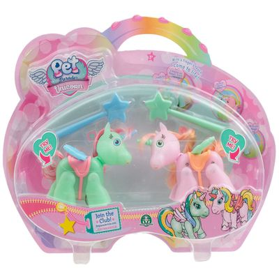 Mini-Bonecos---Pack-com-2---Pet-Parade---Unicornio---Verde-e-Rosa---Multikids