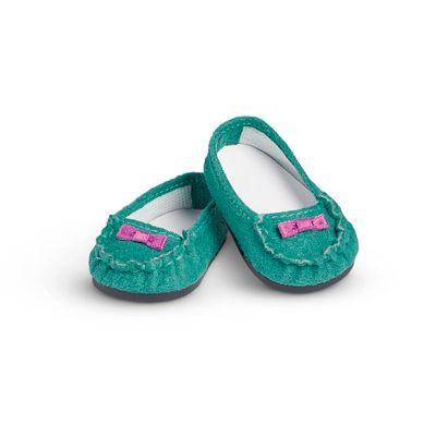 Acessorios-de-Boneca---American-Girl---Truly-Me---Sapatos-Verdes---Mattel