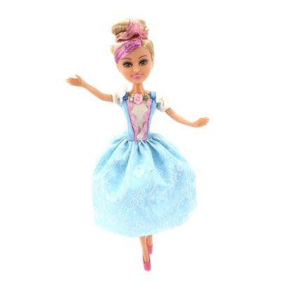 Boneca-Articulada-com-Acessorios---Funville-Sparkle-Girlz---Princesa---Sophie---DTC