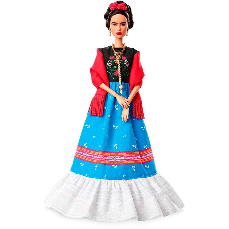 7d6fe9355a Boneca Barbie Colecionável - Frida Kahlo - Mattel - PBKIDS