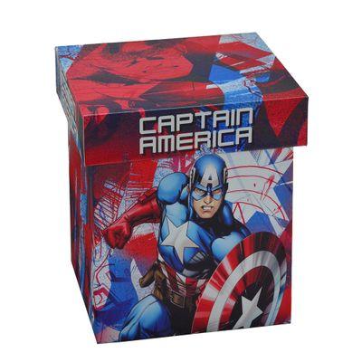 Caixa-Decorativa---20-Cm---Disney---Marvel---Capitao-America---Mabruk