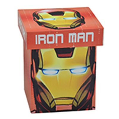 Caixa-Decorativa---20-Cm---Disney---Marvel---Iron-Man---Face---Mabruk