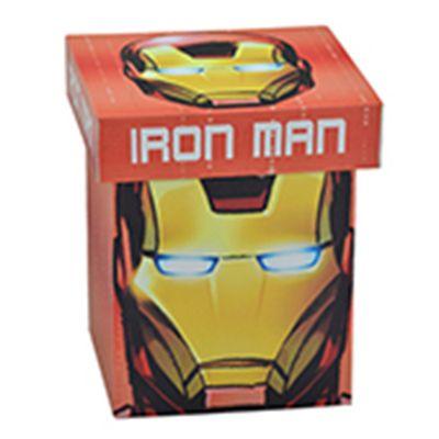 Caixa Decorativa - 20 Cm - Disney - Marvel - Iron Man - Face - Mabruk
