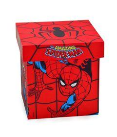 Caixa-Decorativa---20-Cm---Disney---Marvel---The-Amazing-Spider-Man---Vermelho---Mabruk
