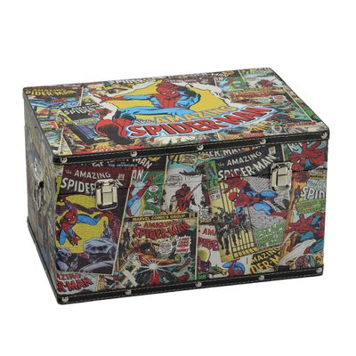 Mini-Bau-Decorativo---Disney---Marvel---Amazing-Spider-Man---Mabruk