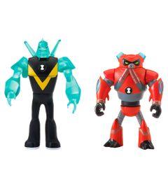 Mini-Figuras-Transformaveis---10-Cm---Ben-10---Enxurrada-e-Diamante---Sunny